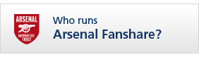 Who runs Arsenal Fanshare